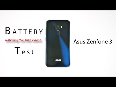Asus Zenfone 3 - Battery Life Comparison Review! (watching youtube videos)