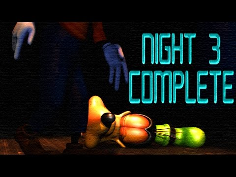 New Update In Five Nights At Treasure Island! | Night 3 Complete | All Animatronics Gameplay (2015) video