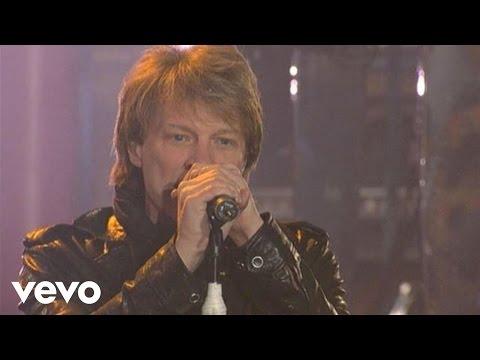 Bon Jovi - Bon Jovi - You Give Love A Bad Name (Live on Letterman)