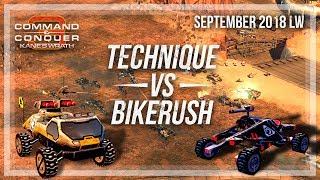 [C&C3: Kane's Wrath] September LW Finals - Technique vs BikeRush [Bo5]