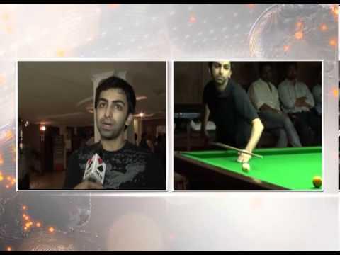 Sandesh News-Interview with billiard player pankaj advani at ahmedabad