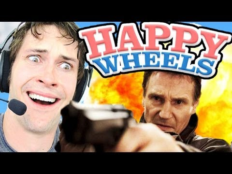Happy Wheels - LIAM NEESON