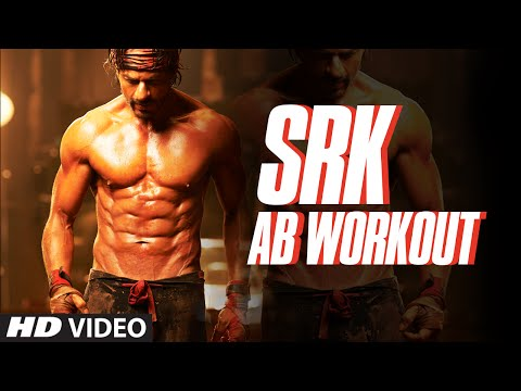 Shah Rukh Khan | AB Workout | Exercise | SRK Rock Solid