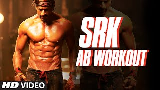 Shah Rukh Khan   AB Workout   Exercise   SRK Rock Solid