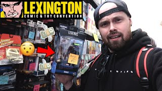 TOY HUNTING LEXINGTON COMIC CON 2019 | NEW MARVEL LEGENDS ENDGAME (FOUND), MYTHIC LEGIONS AND MORE!