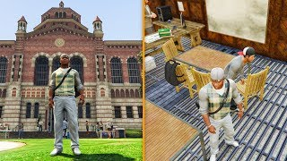 WHAT HAPPENS IF YOU GO TO SCHOOL IN GTA 5! (GTA 5 Funny Moments)