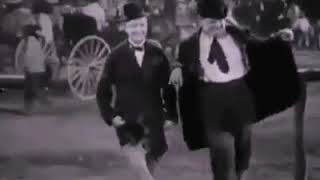 Laurel and hardy dancing to despacito