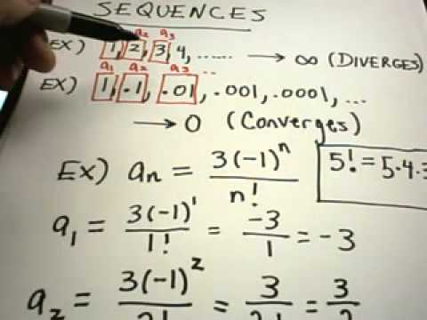 What Is A Sequence Basic Sequence Info Youtube