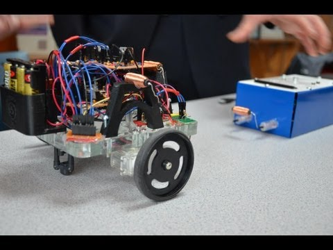 Electromagnetic Tether Robot
