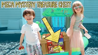 I Mailed Myself to Ryan ToysReview for Ryan's World Mega Mystery Treasure Chest and It WORKED! Skit