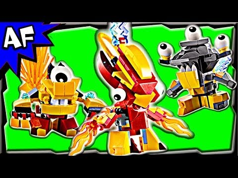 Lego Mixels MURP & MIX Combinations Series 1 Animated Building Review