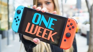 Nintendo Switch - One week!