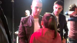 Meeting The Wanted!!!