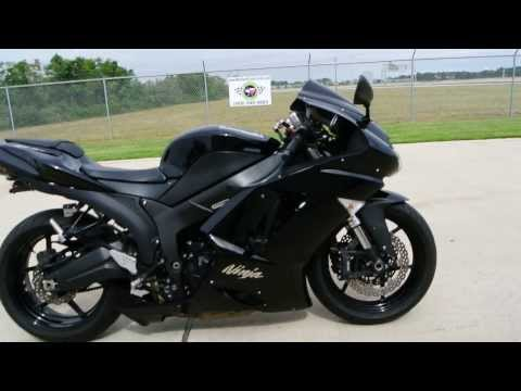 2007 Kawasaki ZX6R with Low Seat Height