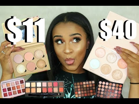 Cheap Makeup Haul + Best Highend Dupes for Everything  Shop Hush