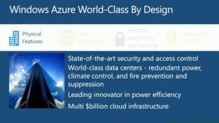 TechEd Europe 2012 Business Continuity in the Windows Azure Cloud