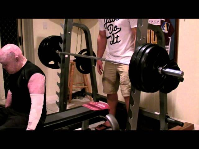 Dean Clifford 145kg Record Bench Press