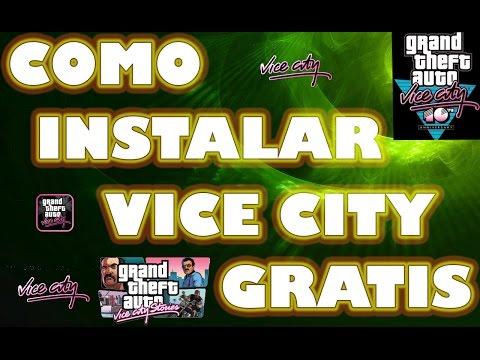 Como Descargar e Instalar GTA Vice City En unaTablet o Celular con Android   (apk + datos SD)   2014
