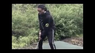 Quavo  Plays Golf Better Than Tiger Woods His First Time At It