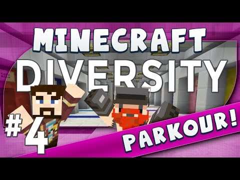 Minecraft Diversity #4 Sheep Jump (Parkour)