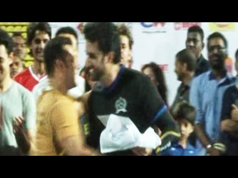 Salman Khan HUGS & PATCH UP with Abhishek Bachchan