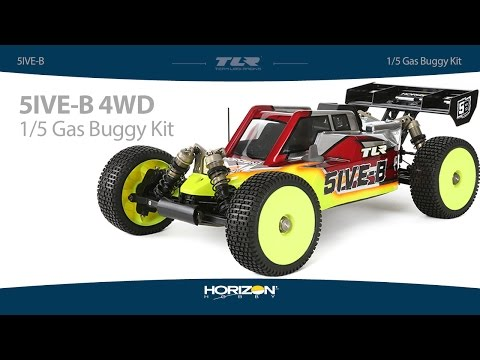 Team Losi Racing 1/5 5IVE-B 4WD Buggy Race Kit