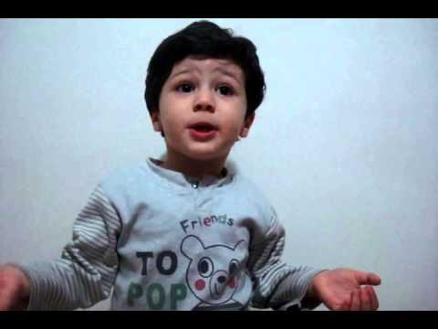 تفسیر اشعار سعدی توسط یک بچه ۳ ساله!