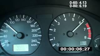 Mitsubishi Carisma 1998 1.6 0-130 km/h