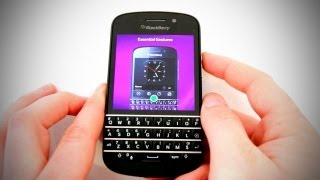 BlackBerry Q10 Unboxing & Overview
