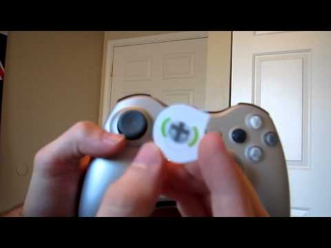 Unboxing of the Sliver Xbox 360 Wireless Controller with Transforming D-Pad and Play and Charge Kit!