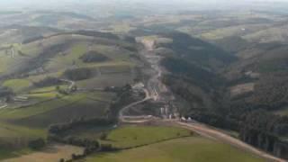 autoroute A89 de balbigny a Violay 2010