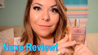Nuxe Shimmer Oil Review ~ Octoly