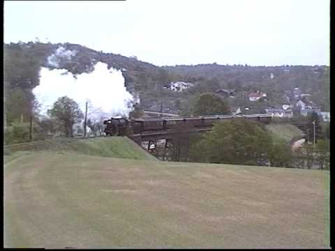 Steamloco ! DB BR 52 - NSB class 63 in Norway 1999 !