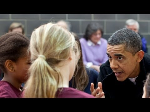 Barack Obama Coaches Sasha's Basketball Team, Discusses Her 'Stubborn' Attempts to Shoot Three's