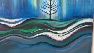 """Bliss"" 24 x 36 Acrylic on canvas by Randy Alcasid"