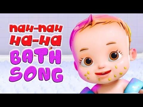 Nah Nah Ha Ha - Bath Song | Baby Ronnie | Nursery Rhymes Kids Songs | Videogyan 3D Rhymes