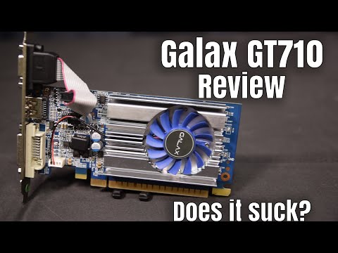 Galax GT710 Review - Can It Actually Play Games?