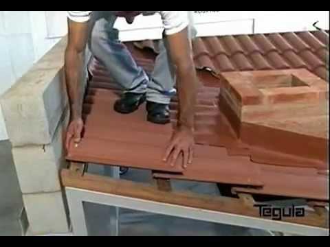 Como instalar calha em telhado