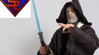Star Wars A New Hope Hot Toys Obi-Wan Kenobi Movie Masterpiece 1/6 Scale Collectible Figure Review