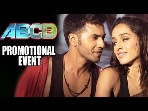 ABCD 2 (2015) Movie Promotional Events | Varun Dhawan, Shraddha Kapoor, Prabhudeva