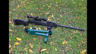 Sportsman's Guide Bench Rest and Shooting Swarm At 3 Distances