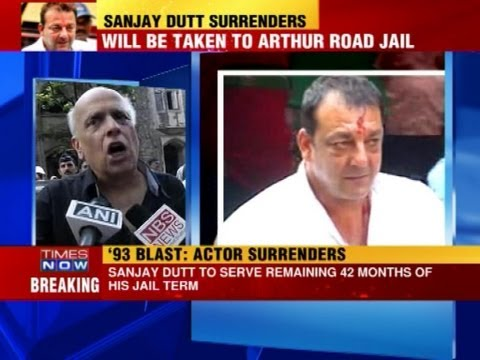 Sanjay Dutt surrenders before TADA court