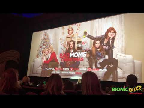 World Premiere Of A Bad Moms Christmas Introduction