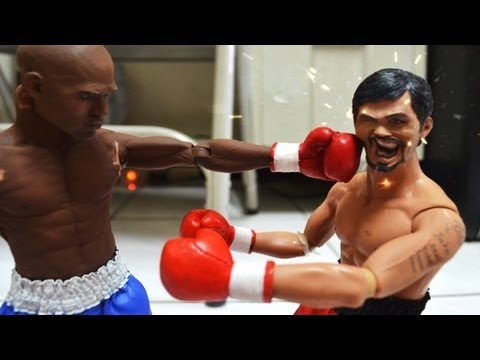 Boxing Stop Motion : Pacquiao VS Mayweather 拳王爭霸戰