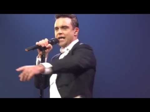Robbie Williams - Ain't That A Kick In The Head (FRONT ROW) - 22-Sept-14 Brisbane HD