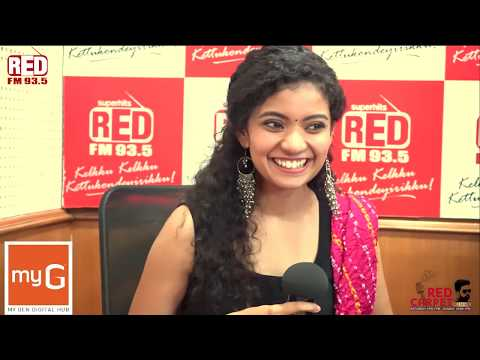 Anna Ben | Kumbalangi Nights | Red Carpet | RJ Mike | Red FM Malayalam