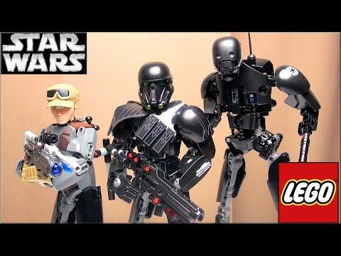 LEGO Star Wars 75119 Сержант Джин Эрсо Обзор. Jyn Erso Rogue One