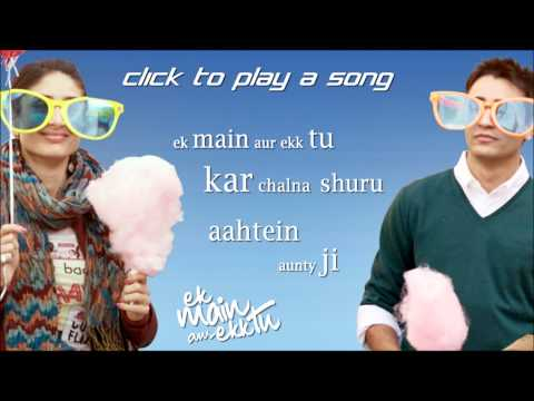 ek main aur ekk tu full songs | Jukebox | Imran Khan | Kareena...