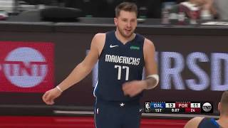 Luka Doncic (27 Points, 9 Assists) Highlights vs. Portland Trail Blazers