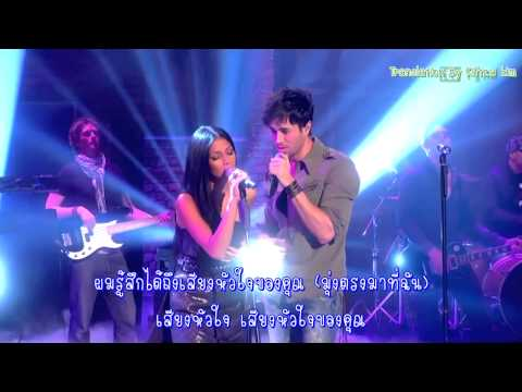 THAI SUB   Nicole Scherzinger & Enrique Iglesias  Heartbeat   Live HD